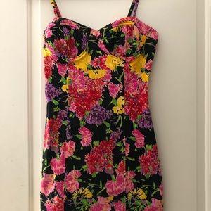 Flirty Floral Mini Dress
